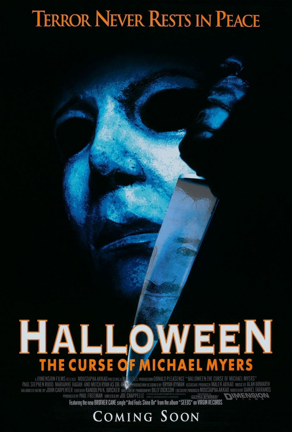 Halloween 6: The Curse of Michael Myers cover